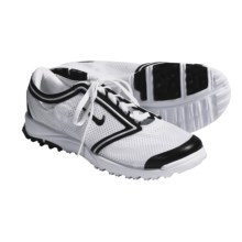 Nike Golf Air Summer Lite III Golf Shoes (For Women) in White/Black - Closeouts