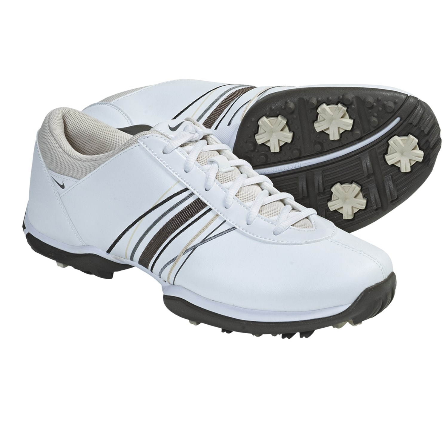 Nike Golf Delight Golf Shoes (For Women) in White/Smoke Birch