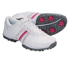 Nike Golf Delight Golf Shoes (For Women) in White/Spark Prism/Pink - Closeouts