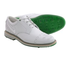 Nike Golf Lunar Clayton Golf Shoes (For Men) in White/White/Pine Green - Closeouts