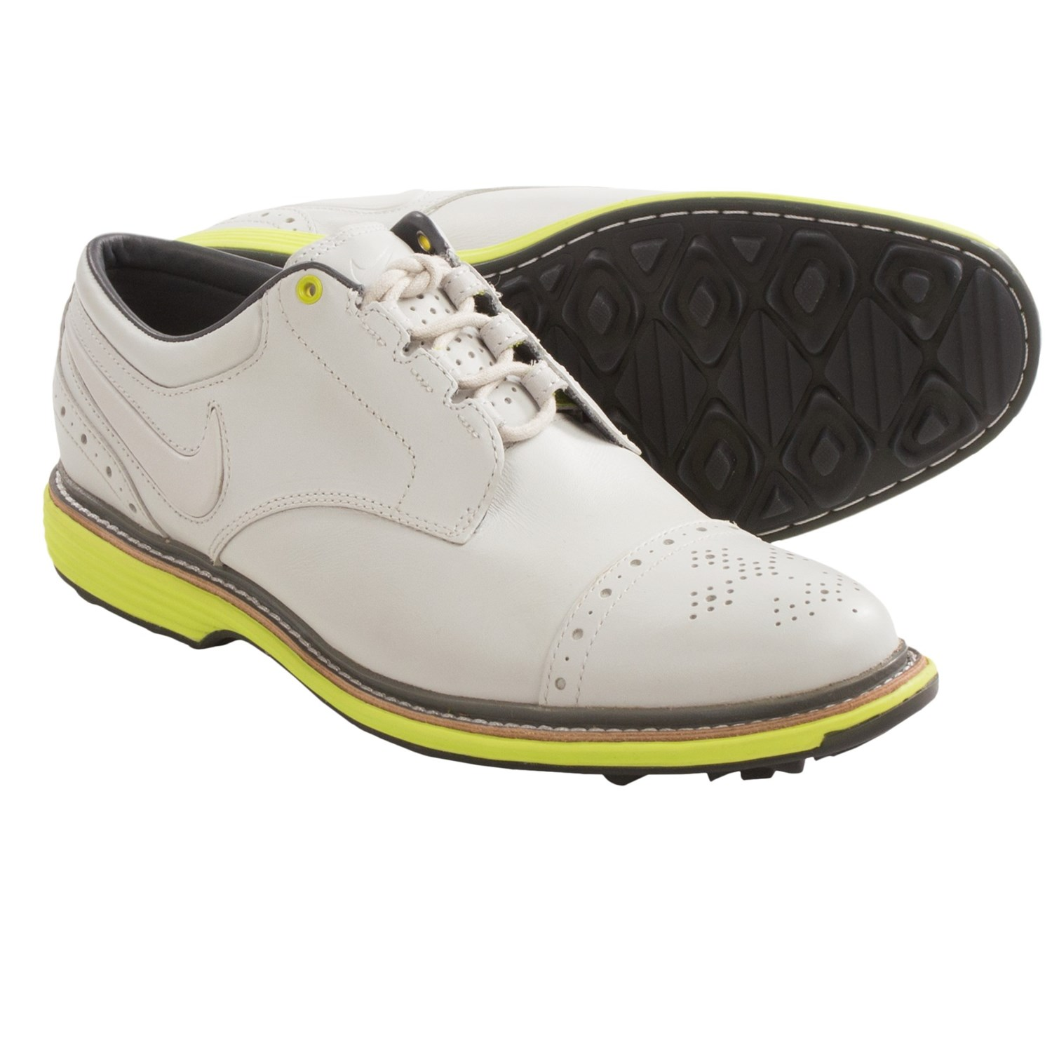 Mens Pink Nike Golf Shoes