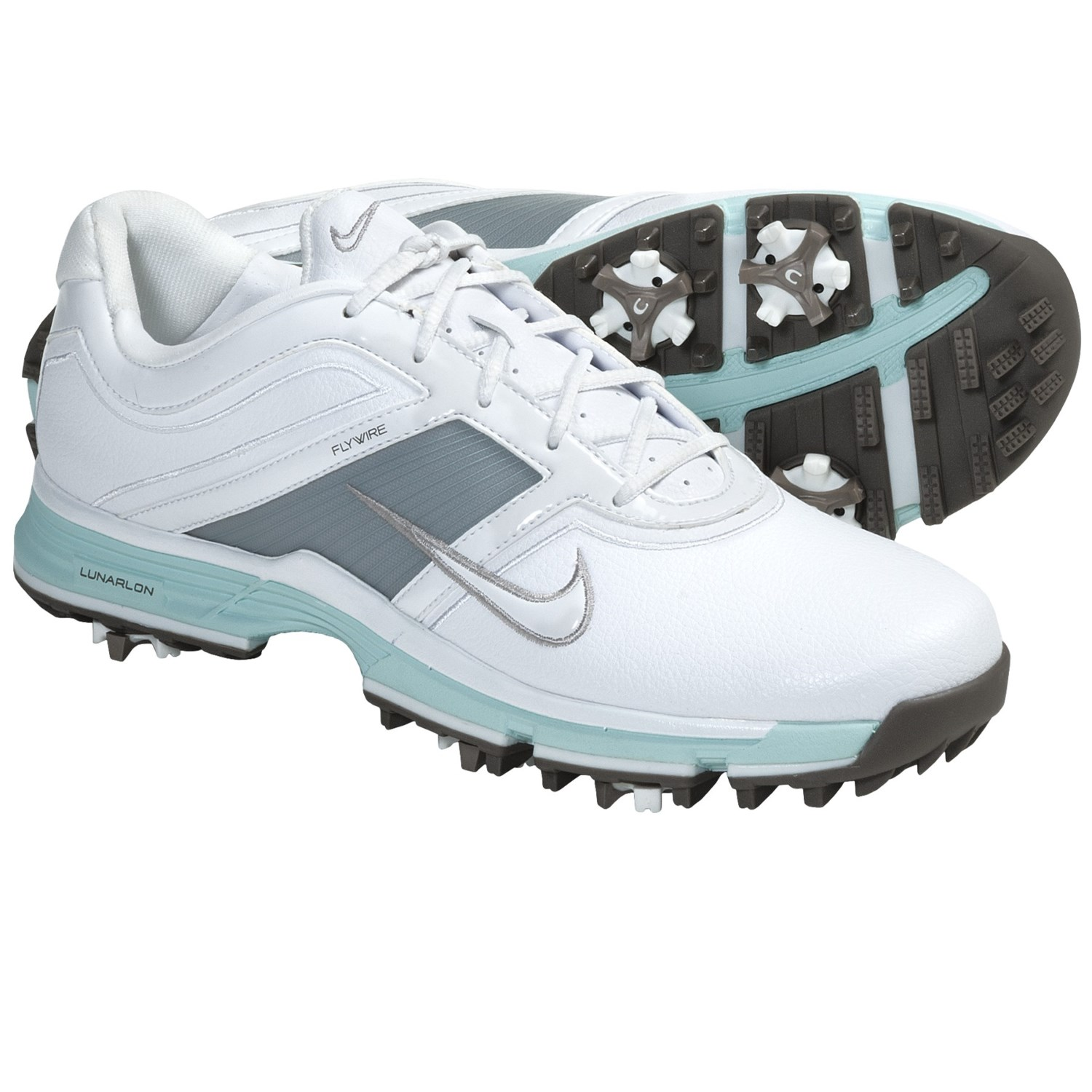 Unique Nike Womens Lunar Control Golf Shoes WhitePink  Carl39s Golfland