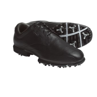 Nike Golf Tour Premium Golf Shoes (For Men) in Black/Gunmetal