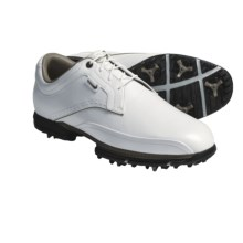 Nike Golf Tour Premium Golf Shoes (For Men) in White/Bronze Chino - Closeouts