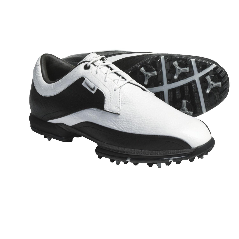 Nike Golf Tour Premium Golf Shoes (For Men) in White/Gunmetal/Black