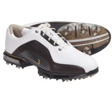 Nike Golf Zoom Advance Golf Shoes (For Men) in White/Bronze/Brown - Closeouts