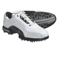 Nike Golf Zoom Advance Golf Shoes (For Men) in White/Metallic Silver/White - Closeouts