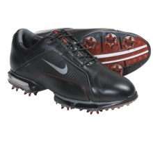 Nike Golf Zoom TW 2012 Golf Shoes (For Men) in Black/Black/Varsity Red/Gunmetal - Closeouts