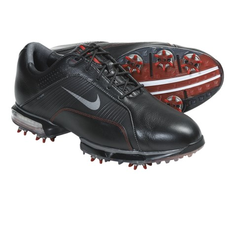 Nike Golf Zoom TW 2012 Golf Shoes (For Men) in White/Metallic Silver/Varsity Red