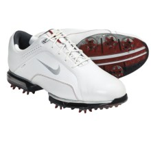 Nike Golf Zoom TW 2012 Golf Shoes (For Men) in White/Metallic Silver/Varsity Red - Closeouts