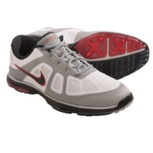 nike lunar ascend grey white red Men\u0026#39;s shoe.