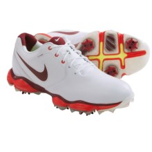 Nike Lunar Control II Golf Shoes (For Men) in White/Team Red - Closeouts
