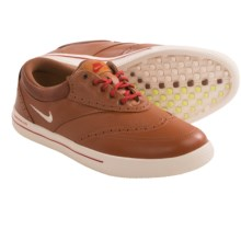 Nike Lunar Swingtip Leather Golf Shoes (For Men) in Brown/Sail/Cider - Closeouts