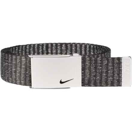 Nike Lurex® Single Web Belt (For Women) in Silver - Closeouts