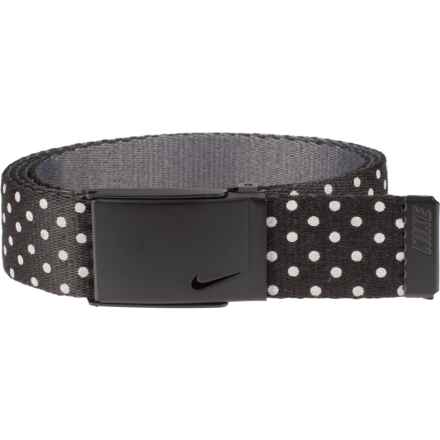 Nike Reflective Dot Web Belt (For Women) in Black/Reflective - Closeouts