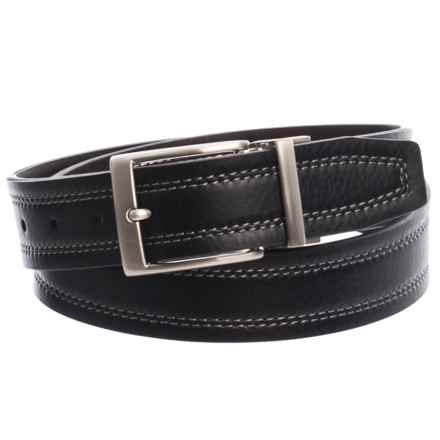 Nike Reversible Harness Belt - Leather (For Men) in Black/Brown - Closeouts