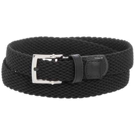 Nike Stretch Woven Belt (For Women) in Black - Closeouts
