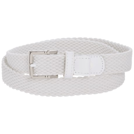 Nike Stretch Woven Belt (For Women) in White