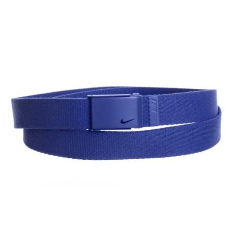Nike Tech Essential Single Web Belt (For Women) in Dark Navy