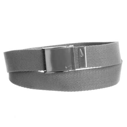 Nike Web Belt (For Men) in Charcoal - Closeouts