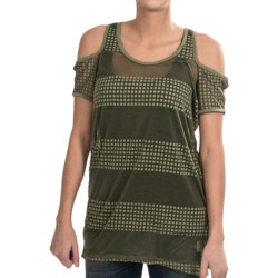Nikita Eagle Tunic - Burnout, Sleeveless (For Women) in Olivine