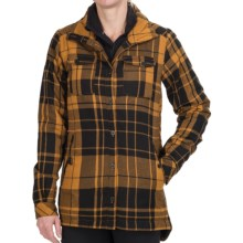 Nikita Fieldstone Insulated Shirt - Long Sleeve (For Women) in Cathay Spice/Jet Black - Closeouts