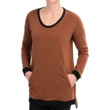 Nikita NSB Sweater (For Women) in Gingerbread/Jet Black - Closeouts
