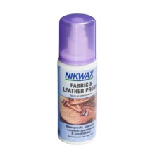 Nikwax Fabric and Leatherproof Spray-On Waterproofing - 4.2 fl.oz. in Asst - Closeouts