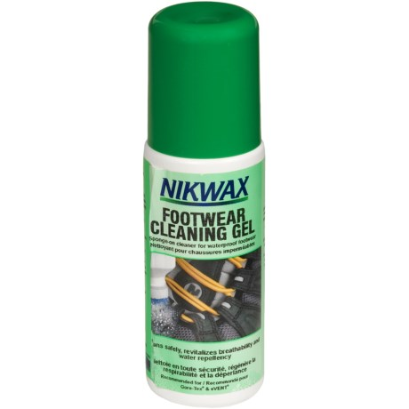 Nikwax Footwear Cleaning Gel - 4.2 fl.oz. in Asst