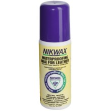 Nikwax Liquid Waterpoofing Wax for Leather - 4.2 fl.oz., Neutral, in Asst - Closeouts