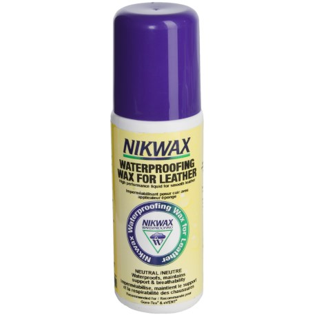 Nikwax Liquid Waterpoofing Wax for Leather - 4.2 fl.oz., Neutral,