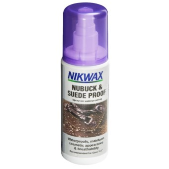 Nikwax Nubuck and Suede Spray-On Waterproofing - 4.2 fl.oz. in Asst