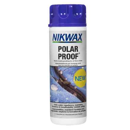 Nikwax Polar Proof Concentrate Fleece Wash -10 oz. in See Photo - Closeouts