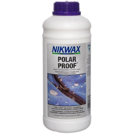 Nikwax Polar Proof Concentrate Fleece Wash - 1L in See Photo
