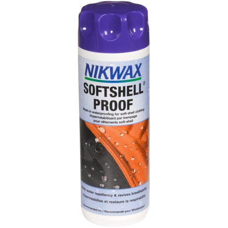Nikwax Wash-In Soft Shell Proof Waterproofing - 10 fl.oz. in Asst