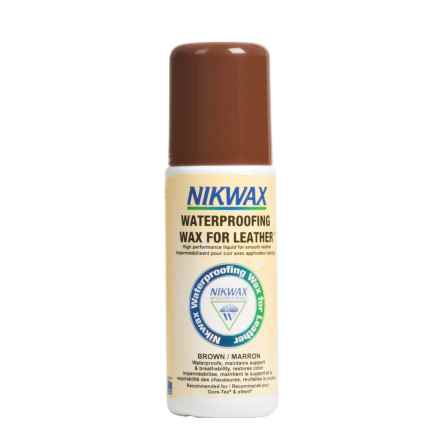 Nikwax Waterproofing Wax For Leather - 4.2 fl.oz. in Brown - Closeouts