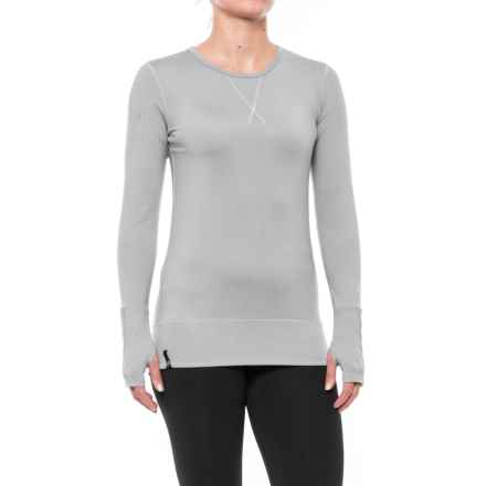NILS Midweight Piper Base Layer Top - Long Sleeve (For Women) in Silver/White - Closeouts