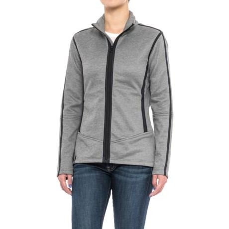 NILS Nancy Jacket - Fleece Lined (For Women) in Charcoal/Black