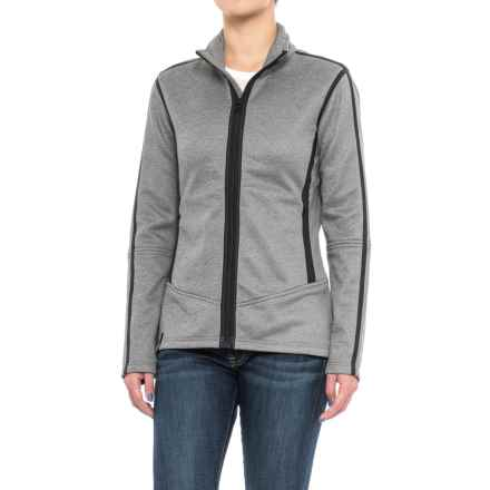NILS Skiwear Nancy Jacket - Fleece Lined (For Women) in Charcoal/Black - Closeouts