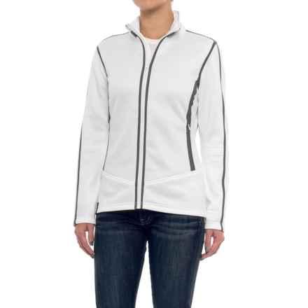 NILS Skiwear Nancy Jacket - Fleece Lined (For Women) in White/Pewter - Closeouts