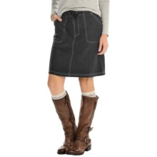 Nina Capri Classic Casual Skort (For Women) in Black - Closeouts