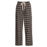 Nina Capri Flannel Lounge Pants (For Women)