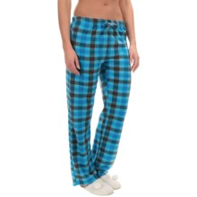Nina Capri Polar Fleece Lounge Pants (For Women) in Bright Blue - Closeouts