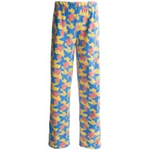 Nina Capri Polar Fleece Lounge Pants (For Women) in Butterfly Print - Closeouts