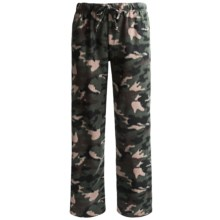 Nina Capri Polar Fleece Lounge Pants (For Women) in Camo - Closeouts