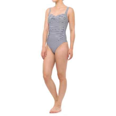 Nip Tuck Swim Joanne Sorrento One-Piece Swimsuit (For Women) in Charcoal - Closeouts