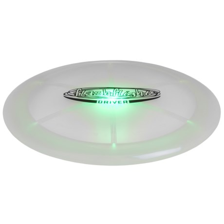 Nite Ize Flashflight® LED Disc Golf Driver - 169-175g in See Photo