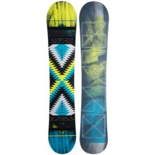 Nitro Spell Snowboard (For Women) in Spellbound W/Mesmerize Logo - Closeouts