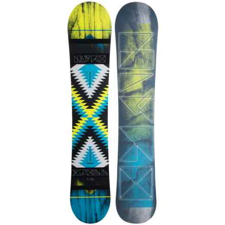 Nitro Spell Snowboard (For Women) in Spellbound W/Mesmerize Logo - Closeouts