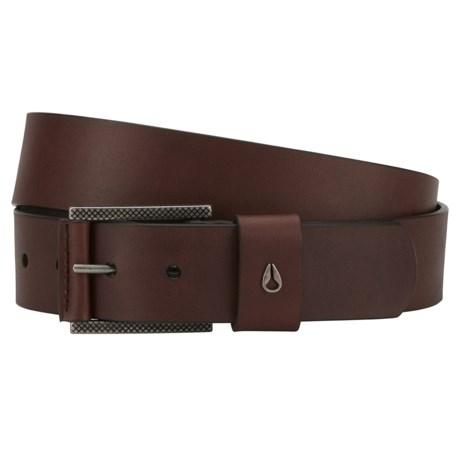 Nixon Americana SE Belt - Leather (For Men) in Brown
